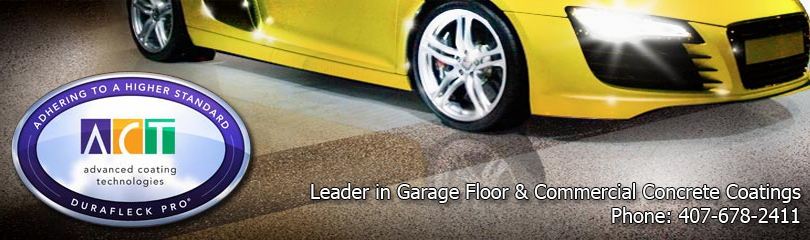 Central Florida's Leader in Garage Floor and Commercial Concrete Coatings.