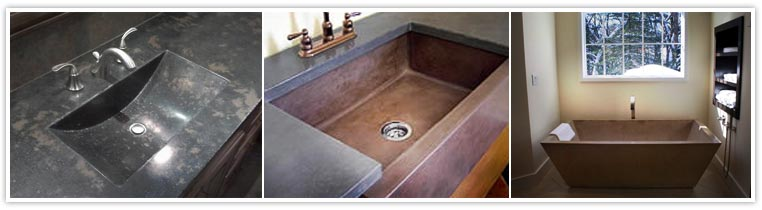 sinks counters and tubs spread